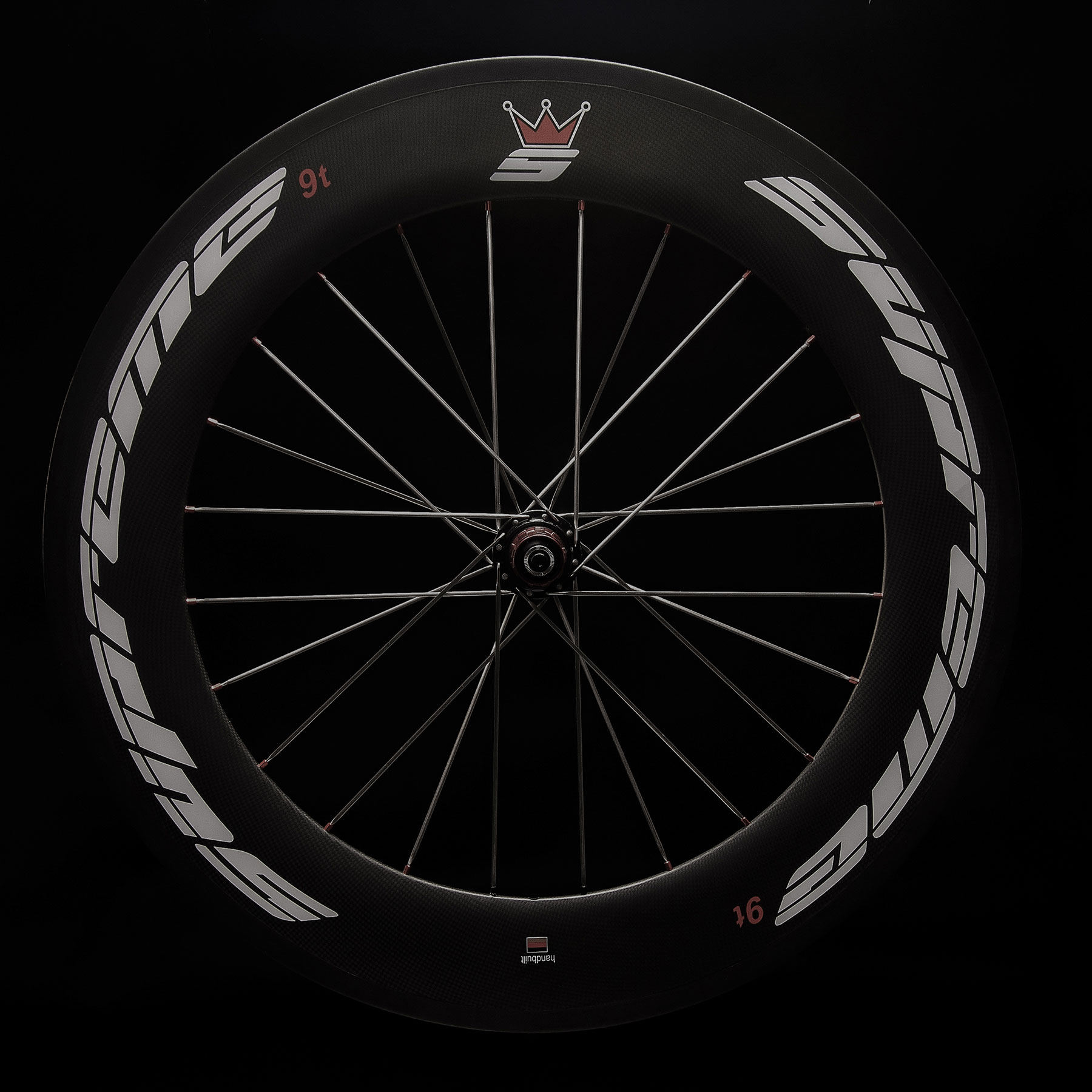 supreme carbon 9t back wheel